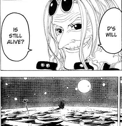"""Доктор Куреха говорит о Воле Д. © """"One Piece"""" Ода Эйчиро"""