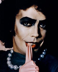 Тим Карри в мюзикле «Rocky Horror Show»