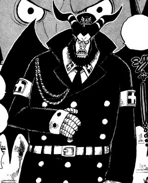 "экс-начальник тюрьмы Магеллан © ""One Piece"" Ода Эйчиро"