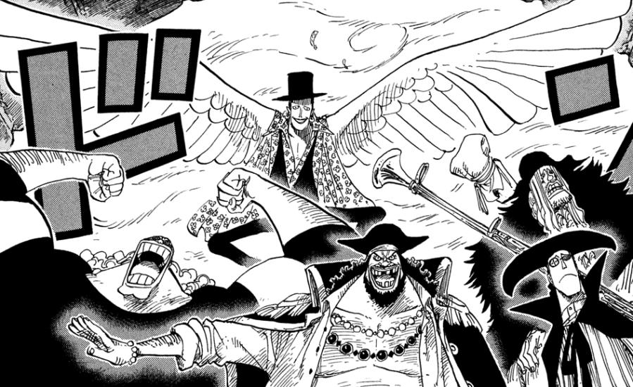 "Лаффит с крыльями © ""One Piece"" Ода Эйчиро"