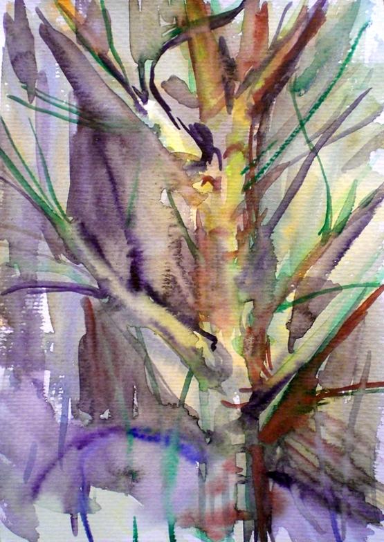 """бумага """"дерево"""", рисунок © Nigami"""