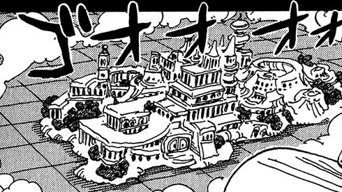 """остров Гранд Лайн Рафтеле © """"One Piece"""" Ода Эйчиро"""