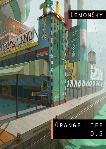 "Lemon5ky, ""Orange life 0.5"" (2011)"