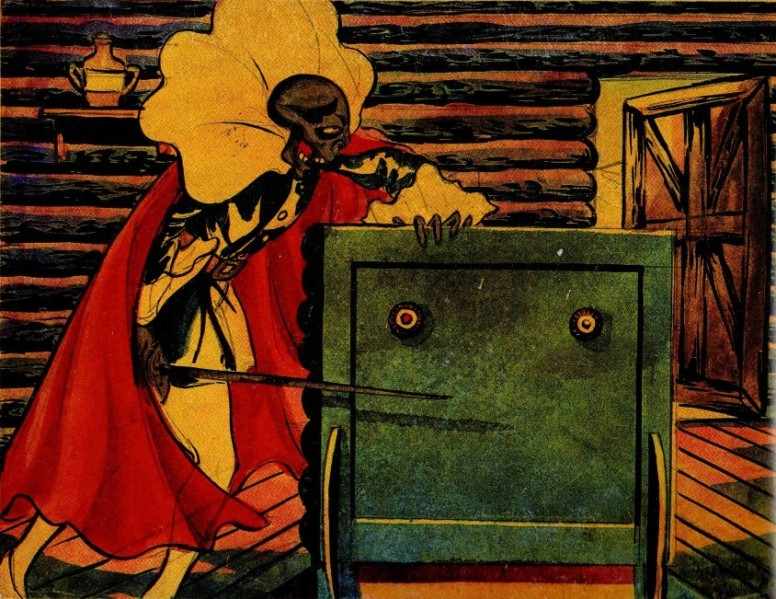 Огон Батто, художник Такэо Нагамацу, 1931.