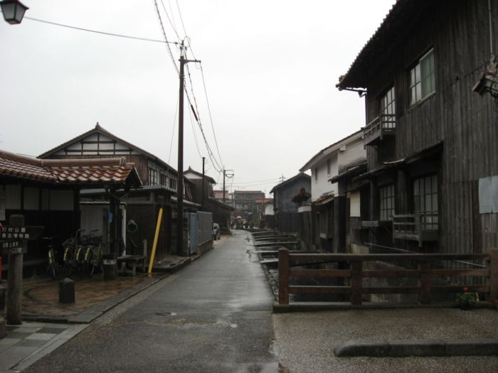 Старинные улочки Кураёси, где сохранился дух древней Японии