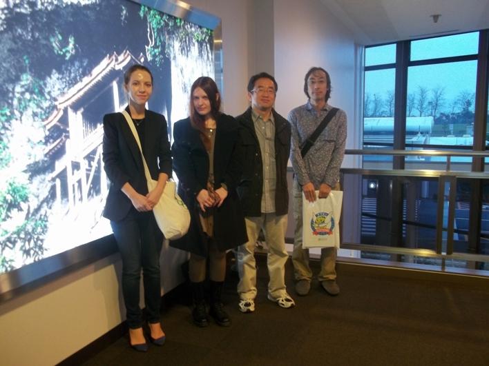 слева направо: Юлия Жерновая, Джэйре, Окаяма.
