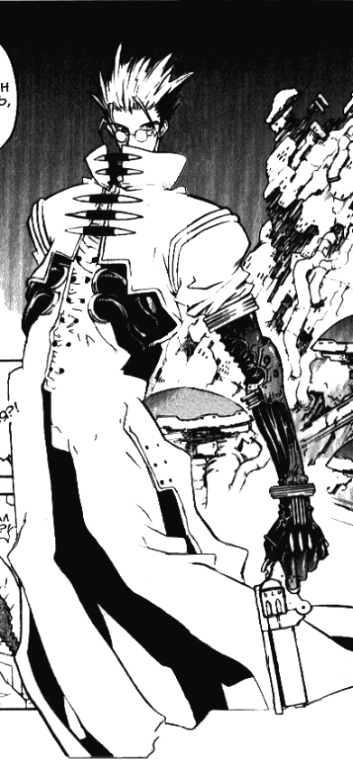 """Триган Максимум"" (том 4), глава 21, автор — Ясухиро Найто"