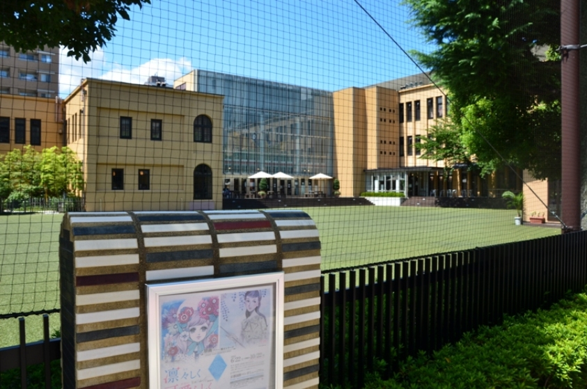 Здание Киотского международного музея манги © фото Юки Магуро