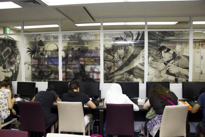 Зал, где будут заниматься участники программы © Нихон Манга Дзюку