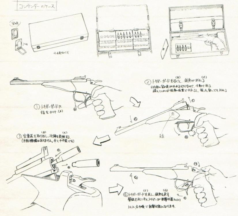 """Томпсон Контендер и """"Пули Истока""""  - «Fate/Zero»"""