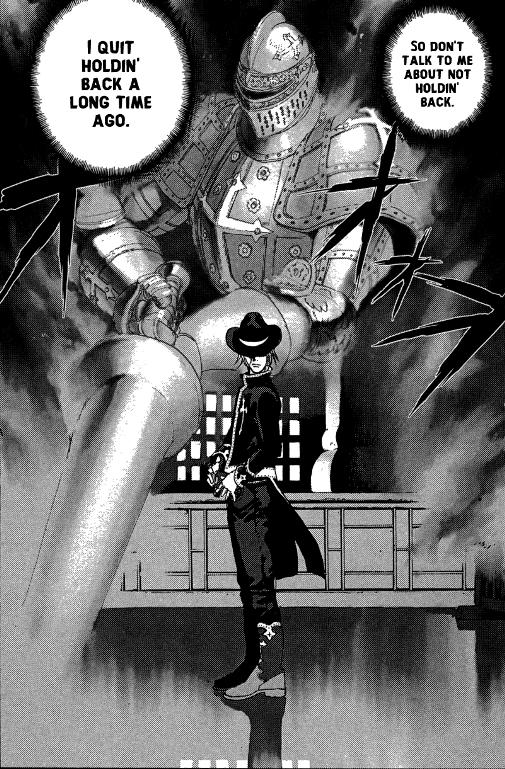 Бит Гэбриел и его боевой дух – «Peace Maker» © Рёдзи Минагава