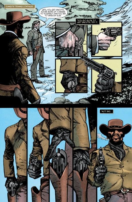 комикс «Джанго освобожденный» © R.M. Guerra