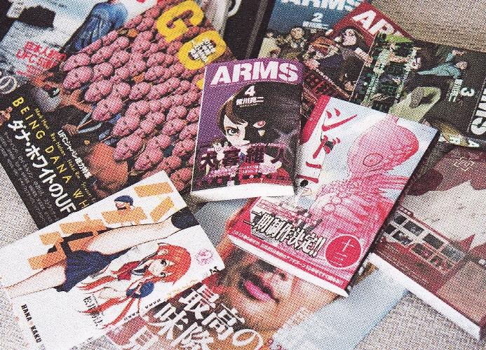 Источники вдохновения Исаямы: манга «Рыцари Сидонии» (Цутому Нихэй) и ее аниме-адаптация, манга «Arms» Рёдзи Минагавы и журналы, посвященные смешанным боевым искусствам.