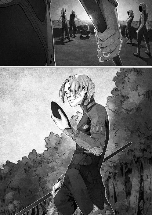 """""""Фурук и я"""" © Анастасия Жернакова (худ.) и Михаил Ищенко (сцен.)"""