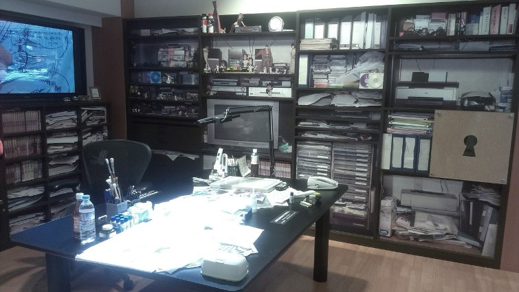 Воспроизведение рабочего кабинета Госё Аоямы в мельчайших деталях © фото: Анастасия Жернакова