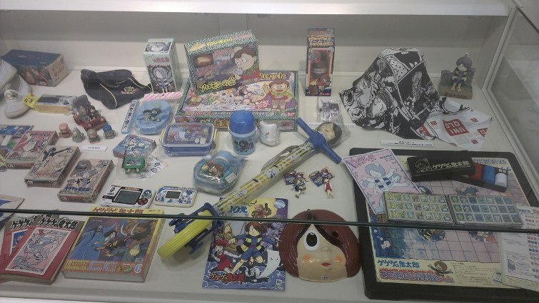 Сувениры с символикой манги «GeGeGe no Kitarou» © фото: Анастасия Жернакова