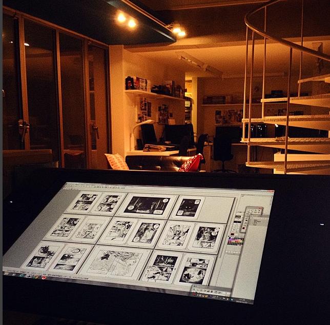 Личная студия Синъити Сакамото