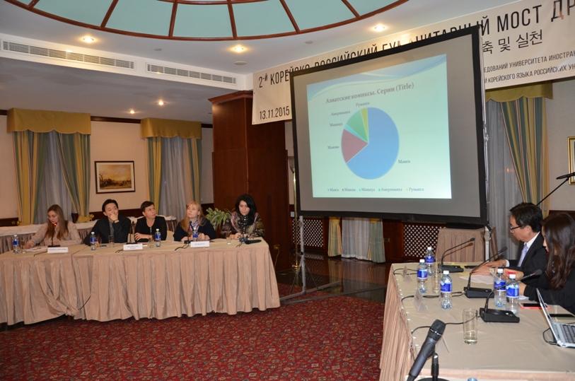 Докладчики конференции - российская  и корейская стороны © фото Мангалекторий