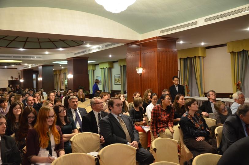 """Конференц-зал """"Есенин"""" в гостинице """"Золотое кольцо"""" © фото Мангалекторий"""
