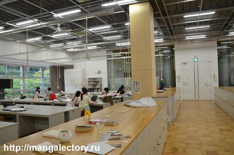 мастерские, где студенты могут отдохнуть и позаниматься