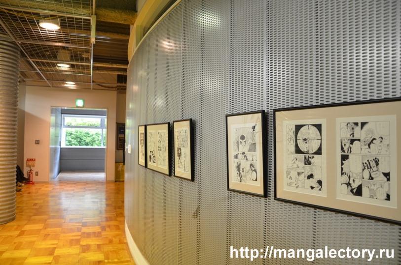 Выставка работ одного из студентов факультета Манги