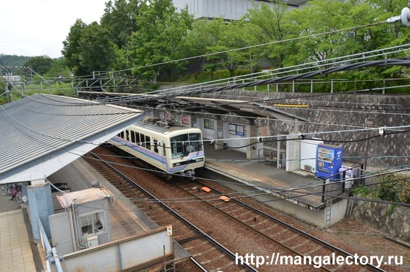 Станция Киото Сэйка дай-маэ © фото Мангалекторий