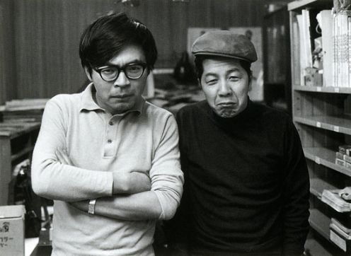 Хаяо Миядзаки и Оцука Ясуо