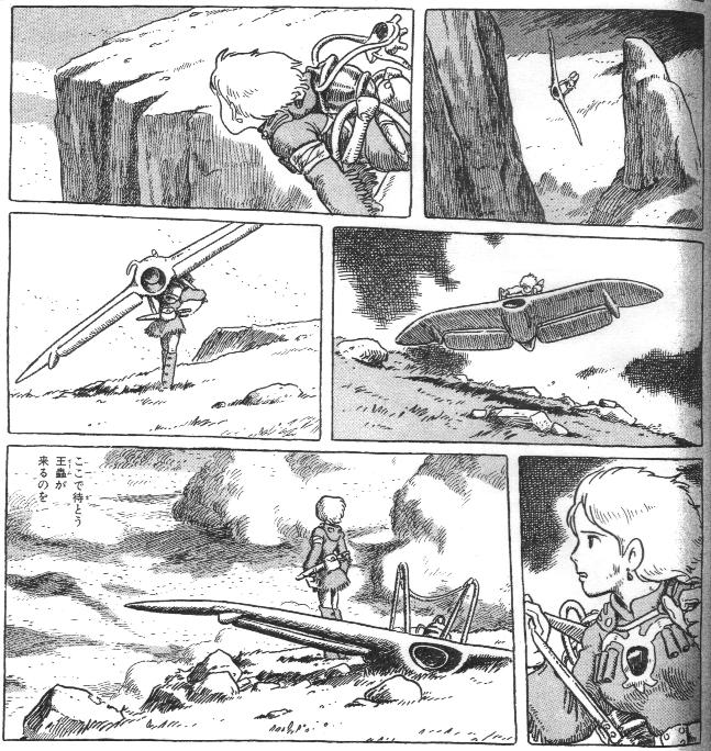 «Навсикая из Долины ветров», том 5, стр. 87.