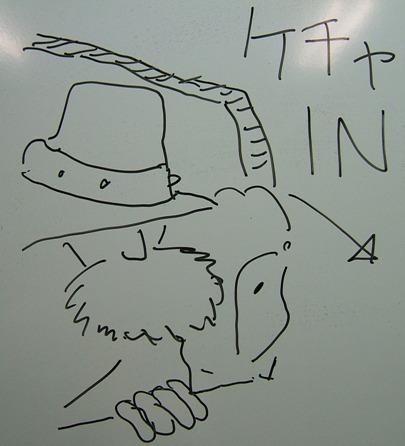 рисунок на доске