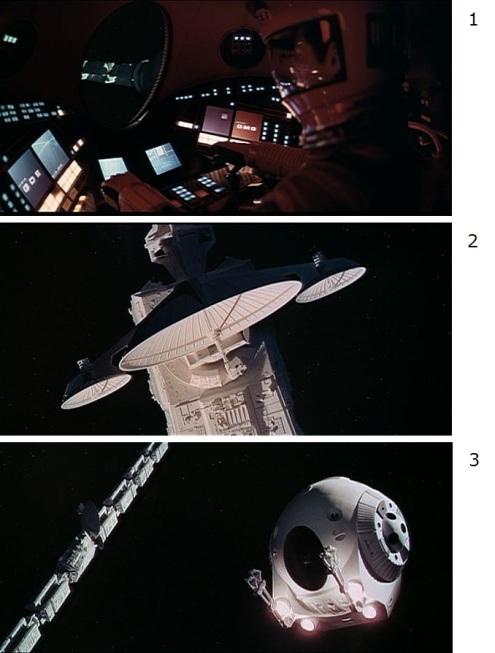 """""""2001: Космическая одиссея"""" Стенли Кубрик (1968)."""