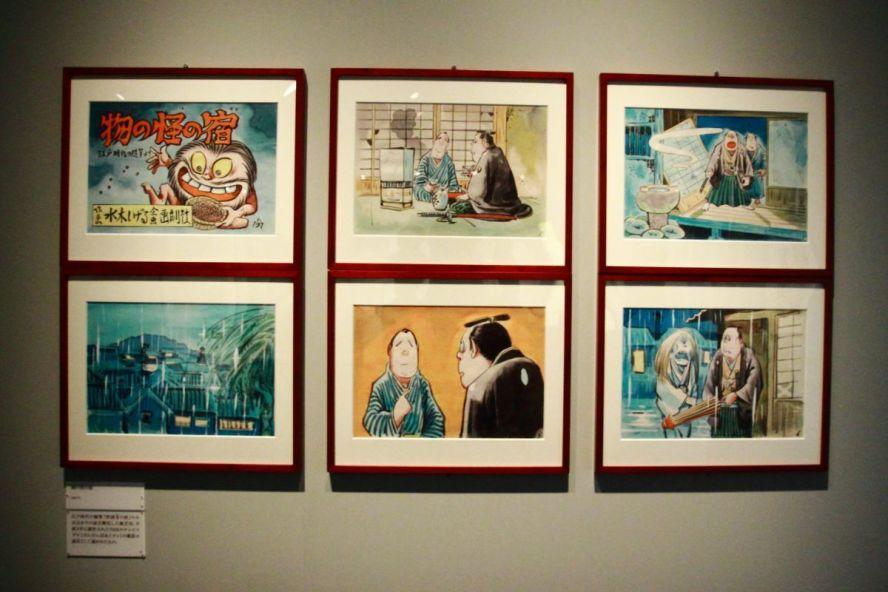 """Экспозиция """"Мононокэ-но ядо"""" (物の怪の宿, Гостиница с привидениями), 1991 г. ⓒ фото 水木プロダクション"""