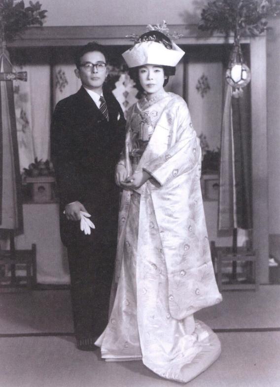 Супруги Мидзуки Сигеру и Мура Нуноэ, 1961 год ⓒ фото 水木プロダクション