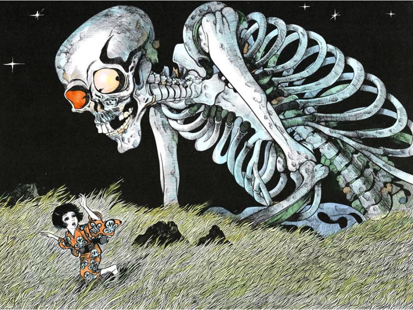 "Скелет ""Гасядокуро"", 1992 год ⓒ фото 水木プロダクション"