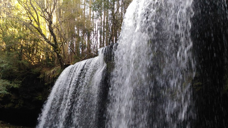 Водопад Набэгатаки