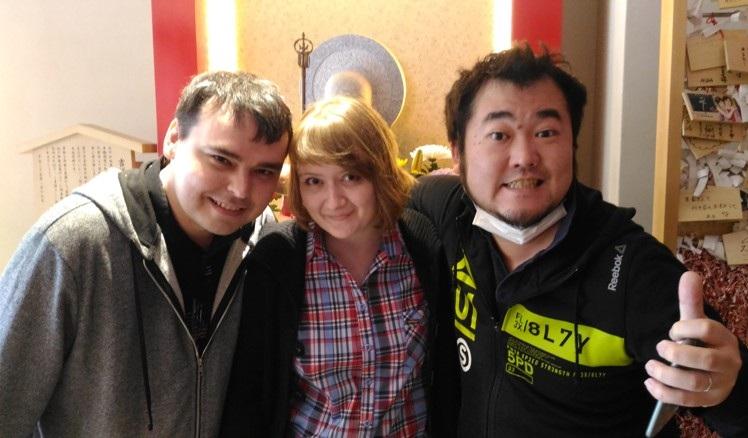 Иван, Nao и Тайо