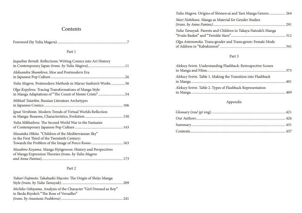 Contents Vol.2