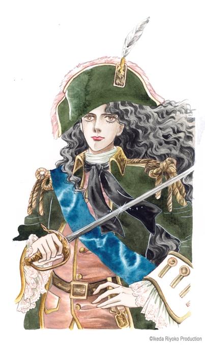 иллюстрация к манге Императрица Екатерина