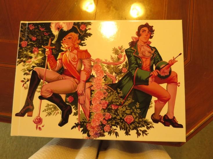 Картина, подаренная представителями российского фан-клуба © фото из блога Риёко Икэды