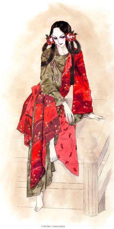 Манга Ямагиси Рёко «Император страны восходящего солнца», принц Сётоку