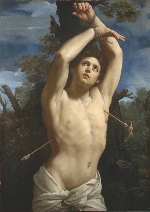 Рис. 8. Гвидо Рени «Святой Себастьян» (ок. 1615)